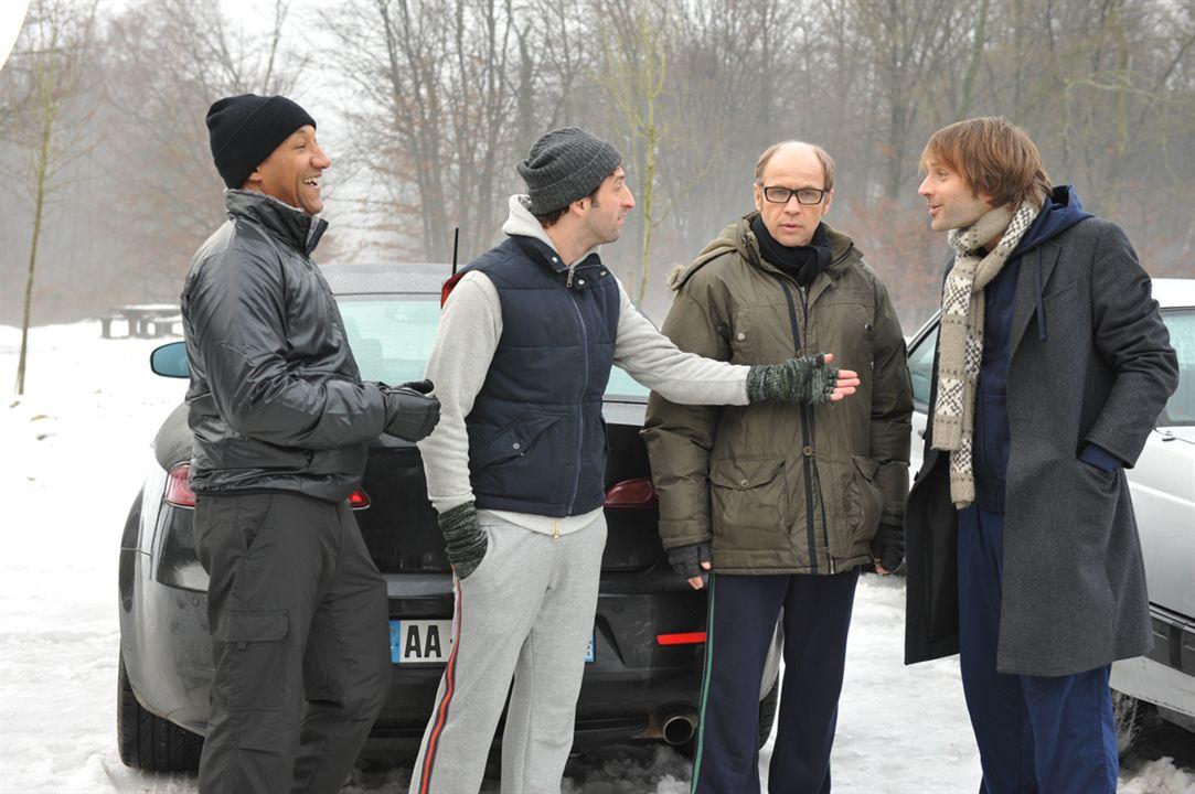 Photo Edouard Montoute, Frédéric Quiring, Laurent Bateau, Thomas Jouannet