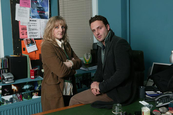 Afterlife : Photo Andrew Lincoln, Lesley Sharp