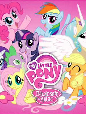 My Little Pony : Les amies, c'est magique : Affiche