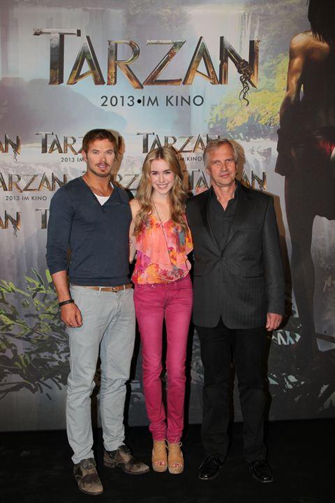 Tarzan : Photo promotionnelle Kellan Lutz, Reinhard Klooss, Spencer Locke