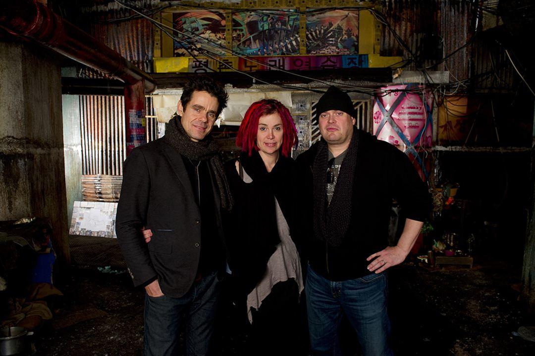 Cloud Atlas : Photo Lana Wachowski, Lilly Wachowski, Tom Tykwer