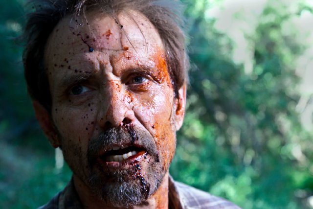 The Victim : Photo Michael Biehn