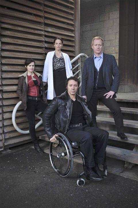 Photo Bruno Debrandt, Frédéric Pellegeay, Julie Delarme, Smadi Wolfman