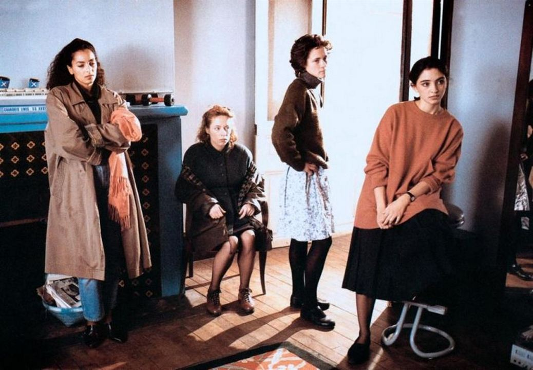 La Bande des quatre : Photo Bernadette Giraud, Fejria Deliba, Ines de Medeiros, Laurence Côte