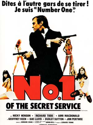 Number one agent spécial du service secret