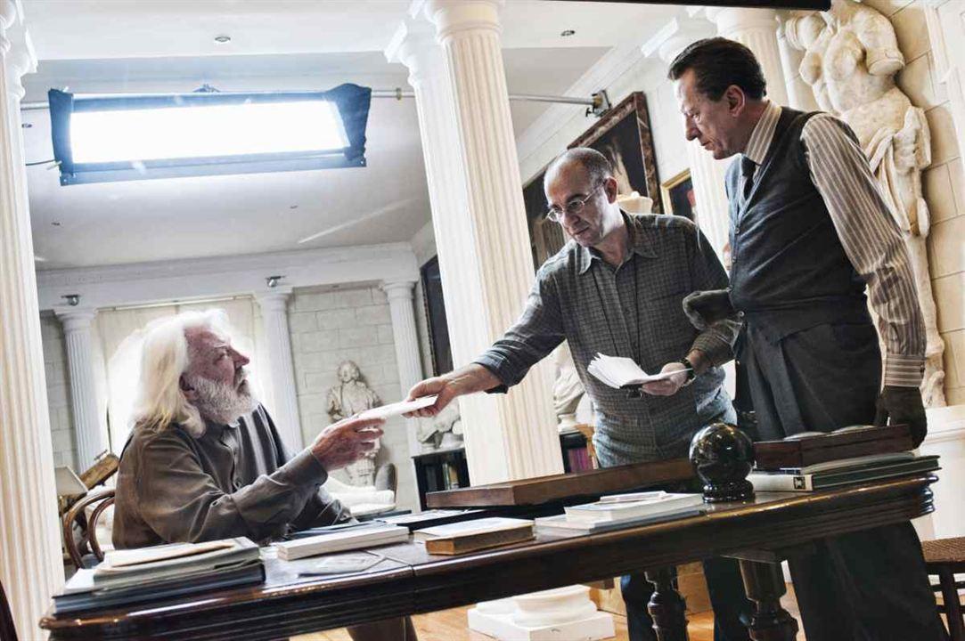 The Best Offer : Photo Donald Sutherland, Geoffrey Rush, Giuseppe Tornatore