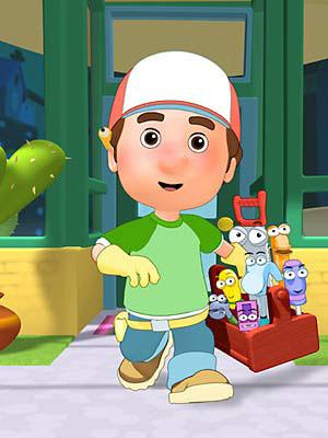 Manny et ses outils : Affiche