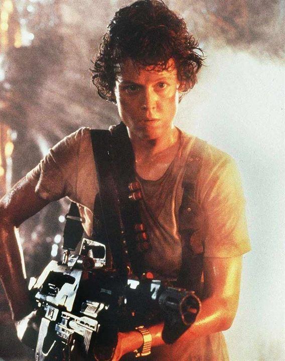 "Sigourney Weaver alias ""Ellen Ripley"""