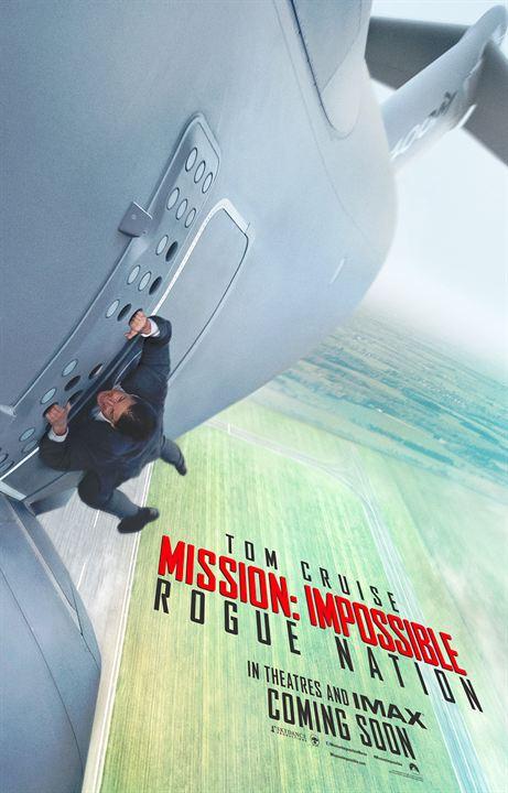 Mission: Impossible - Rogue Nation - Sortie le 12 août 2015