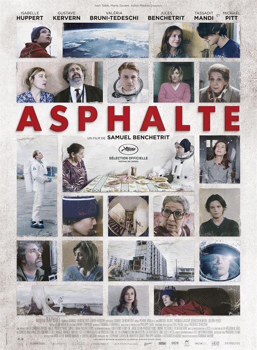 Asphalte - Sortie le 7 octobre 2015