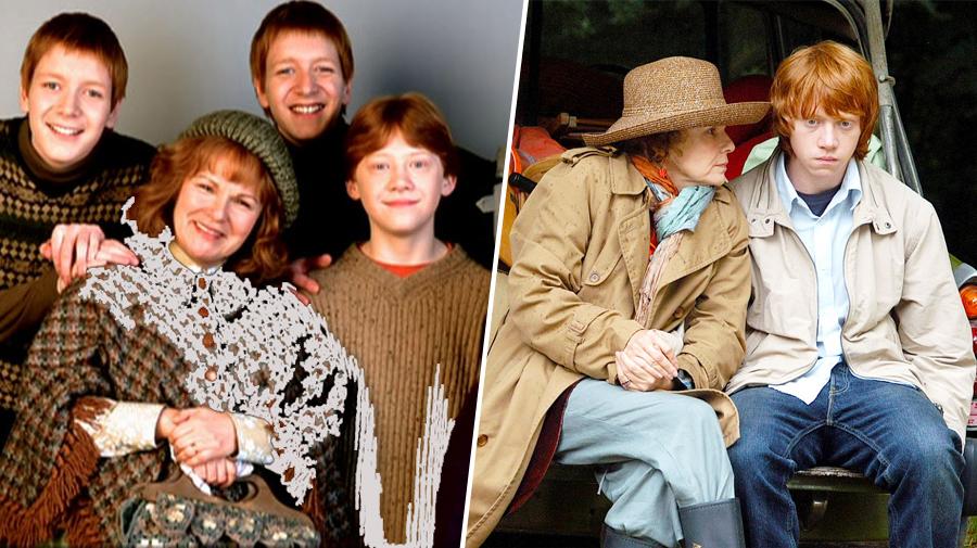 Rupert Grint et Julie Walters