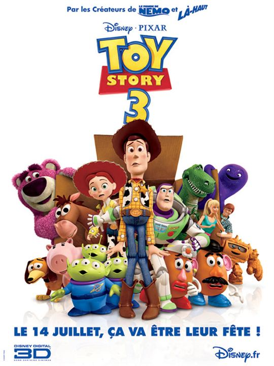 3 - Toy Story 3