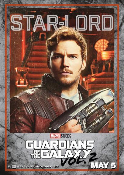 10 Affiches Personnages Pour Les Gardiens De La Galaxie 2 Allocine