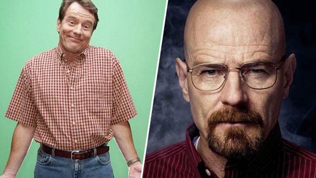 Hal (Malcolm) de 2001 à 2006 / Walter White (Breaking Bad) de 2008 à 2013