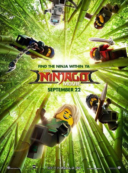 Affiche de Lego Ninjago