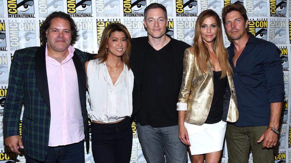Les retrouvailles du casting au Comic-Con de San Diego