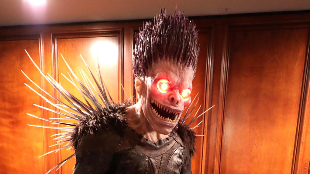 Ryuk, le dieu de la mort qui suit le porteur du Death Note