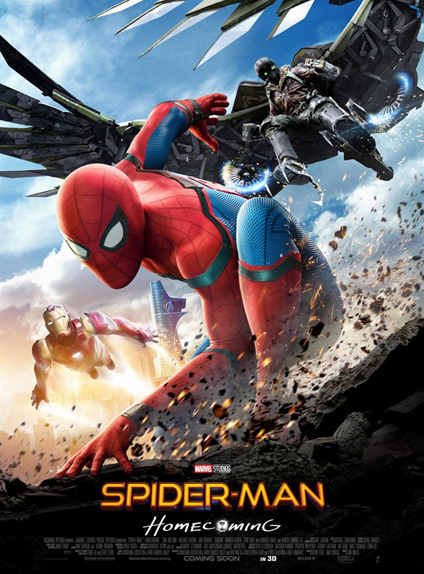 N°5 - Spider-Man Homecoming : 13,45 millions de dollars de recettes