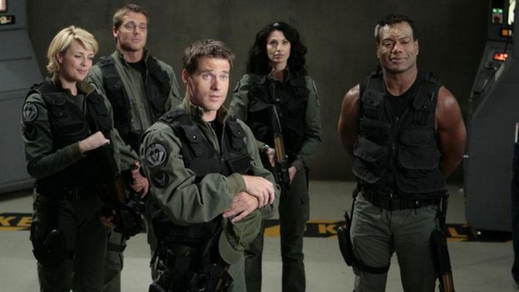 Sam, Daniel, Cameron, Vala et Teal'c