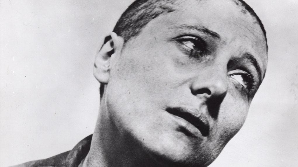 """Renée Falconetti dans """"La Passion de Jeanne d'Arc"""" de Carl Theodor Dreyer (1928)"""