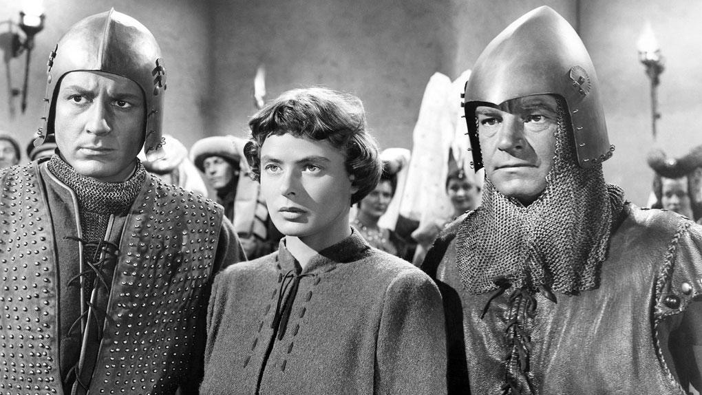 """Ingrid Bergman dans """"Joan of Arc"""" de Victor Fleming (1948)"""