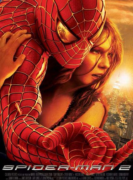 N° 10 - Spider-Man 2 : 373,5 millions de dollars de recettes