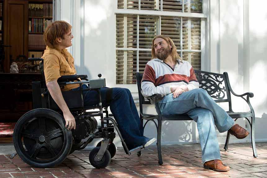 Don't Worry, He Won't Get Far On Foot de Gus Van Sant avec Joaquin Phoenix, Mark Webber, Rooney Mara...