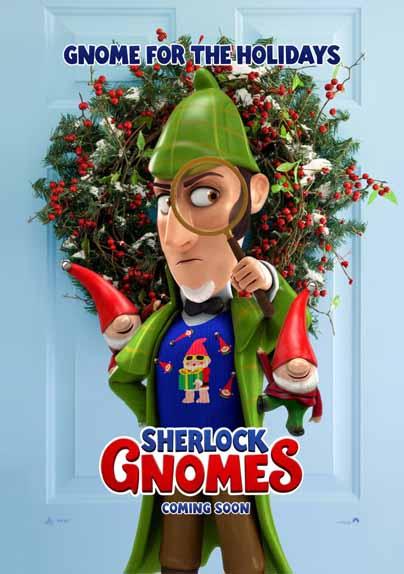 Sherlock Gnomes de John Stevenson avec James McAvoy, Emily Blunt, Johnny Depp...