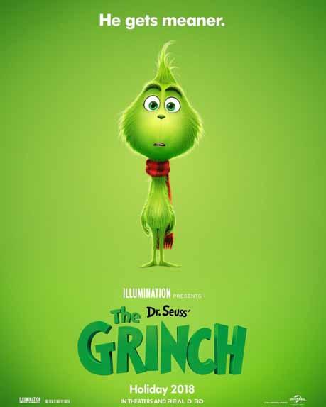 Dr. Seuss' How The Grinch Stole Christmas de Peter Candeland, Yarrow Cheney avec Benedict Cumberbatch...