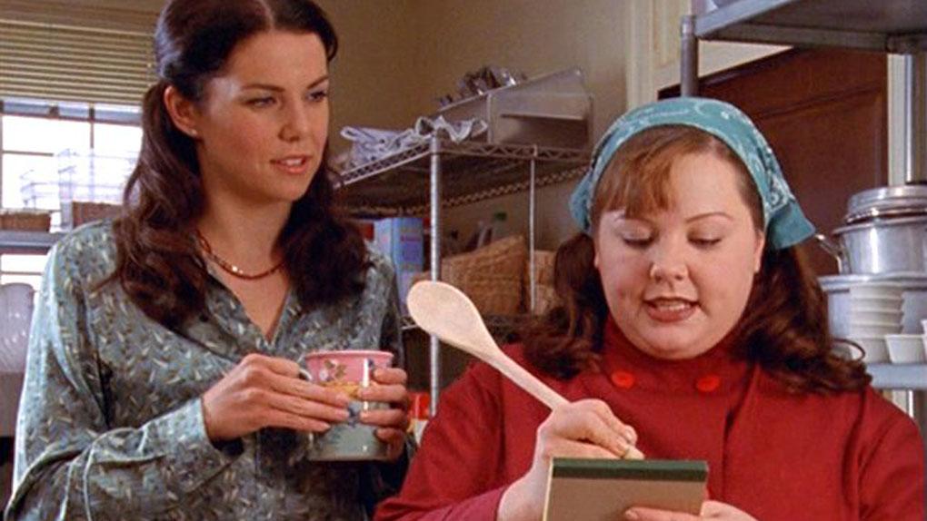 "Lorelai et Sookie dans ""Gilmore Girls"""