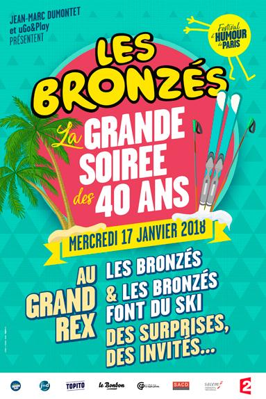 Rendez-vous pour la grande soirée des 40 ans des Bronzés le 17 janvier
