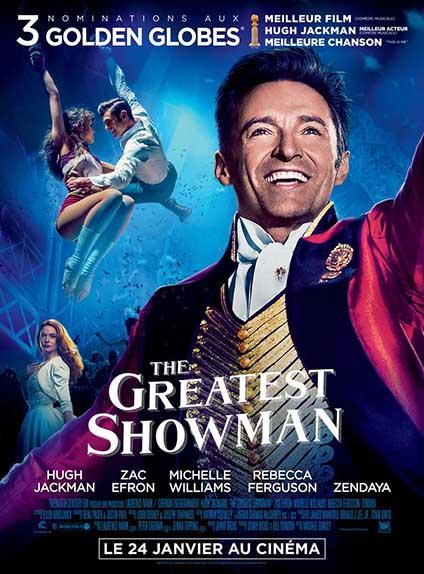 N°5 - The Greatest Showman : 11 millions de dollars de recettes
