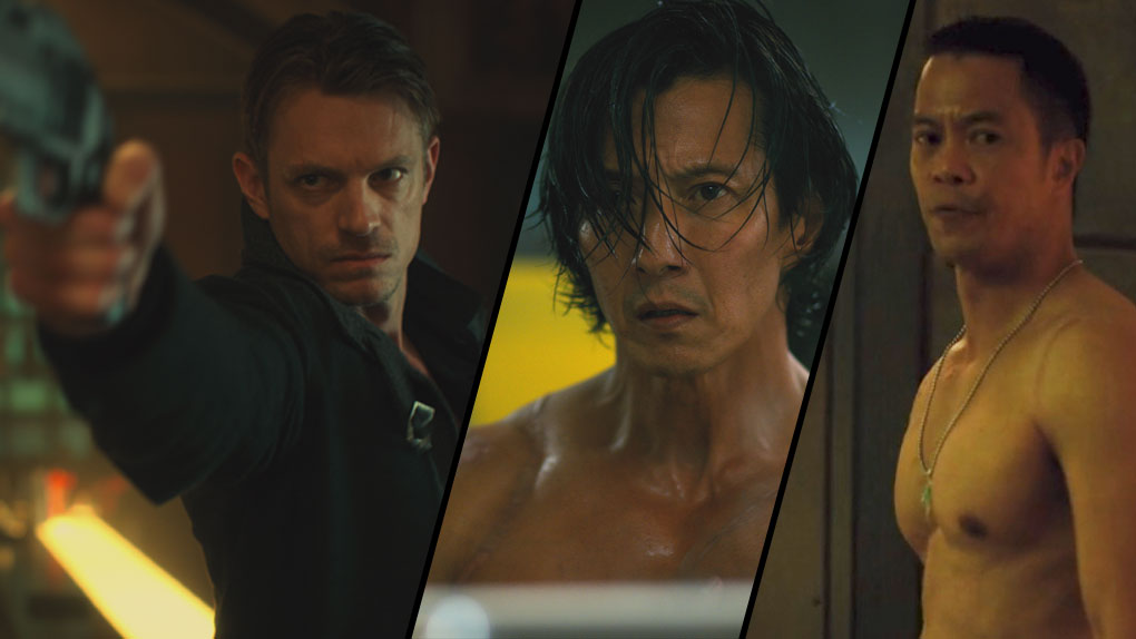"Takeshi Kovacs dans ""Altered Carbon"""