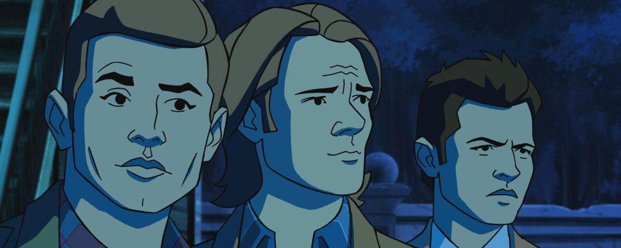 Supernatural Le Crossover Tres Anime Avec Scooby Doo Deja Dans