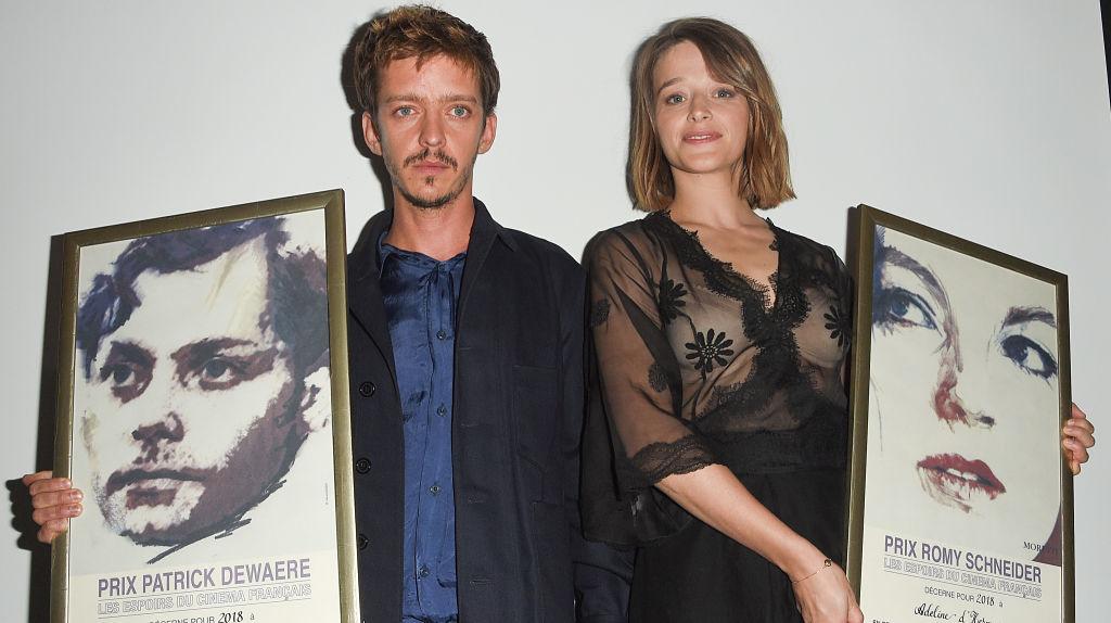 Nahuel Perez Biscayart et Adeline d'Hermy, Prix Patrick Dewaere et Romy Schneider 2018