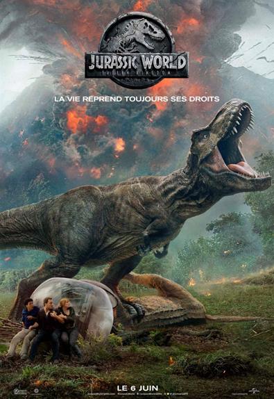 N°1 - Jurassic World: Fallen Kingdom : 364 266 entrées