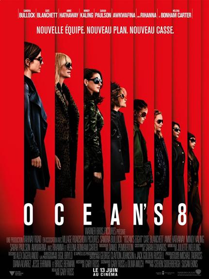 N°3 - Ocean's 8 : 172 837 entrées
