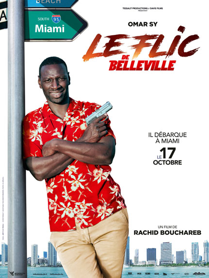 Le Flic de Belleville de Rachid Bouchareb avec Omar Sy, Luis Guzman, Franck Gastambide...