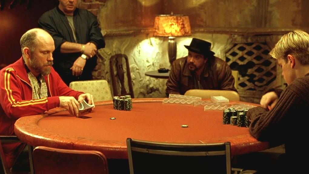 Matt Damon à la table de jeu face à John Malkovich. Dans quel film ? (Réponse page suivante)