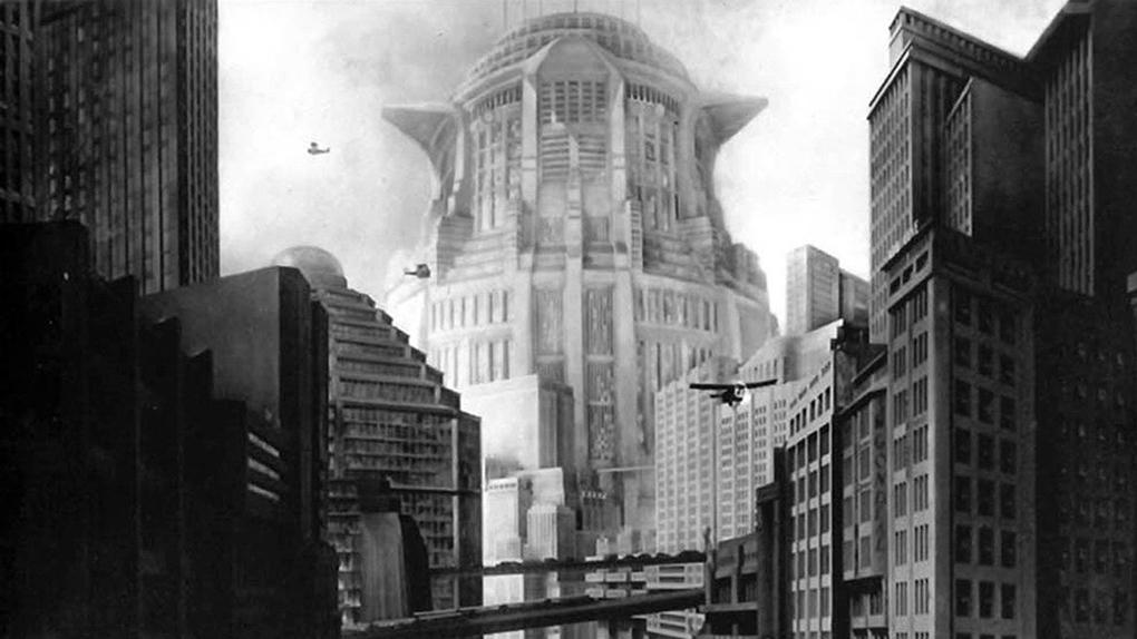 """La tour de Babel de John Fredersen dans le """"Metropolis"""" de Fritz Lang (1927)"""
