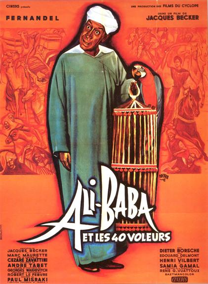 22 - Ali Baba et les 40 voleurs (1954)