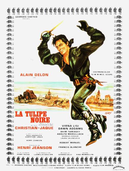 12 - La Tulipe noire (1963)