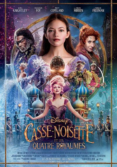 Casse-noisette et les quatre royaumes avec Mackenzie Foy, Keira Knightley, Matthew MacFadyen...