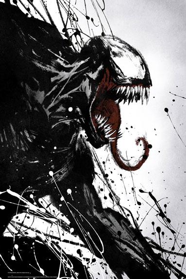 Venom avec Tom Hardy, Michelle Williams...