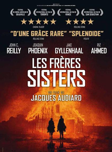 N°4 - Les Frères Sisters : 188 777 entrées
