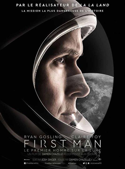 N°5 - First Man le premier homme sur la Lune : 8,56 millions de dollars de recettes