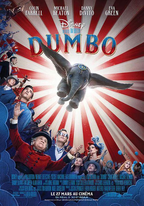 Dumbo avec Colin Farrell, Danny DeVito...