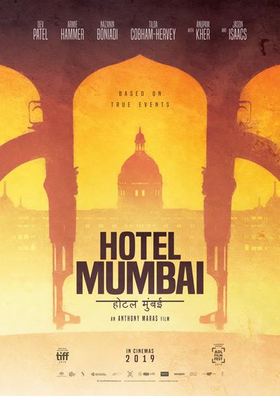 Hotel Mumbai avec Dev Patel, Armie Hammer...