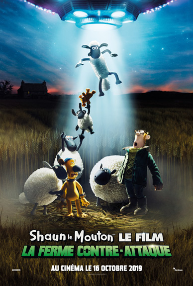 Shaun le Mouton Le Film : La Ferme Contre-Attaque de Richard Starzak
