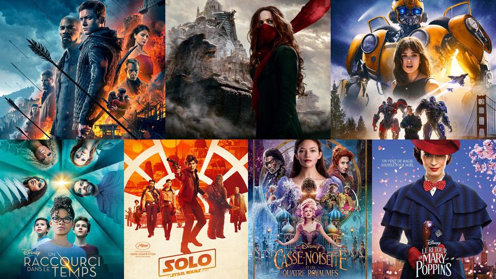 Les blockbusters qui n'ont pas fait recette en 2018